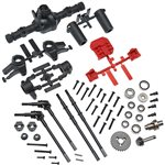 Axial AR44 Locked Axle Set Front/Rear Complete