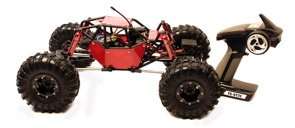 Gmade Gmade R1 1/10 RTR Rock Crawler Buggy w/2.4GHz Radio (Red)