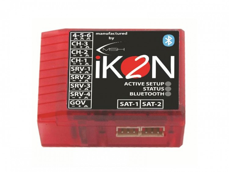 iKON iKON2 Flybarless System with Integrated Bluetooth Module