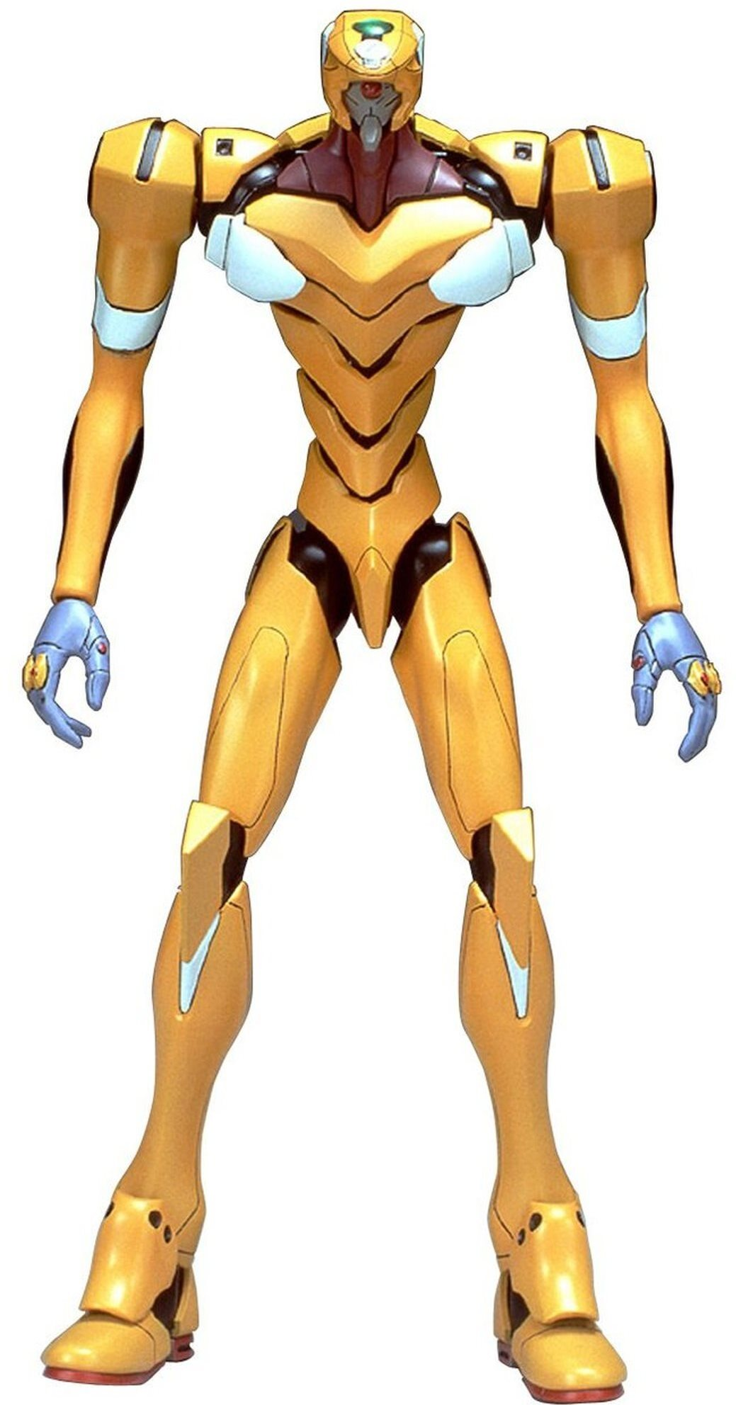 "Bandai/Gundam Wing #003 Eva-00 Prototype (Orange) (Rei) Hg Model Kit, From \""Evangel"