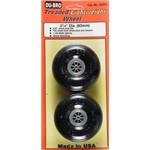 Treaded Lite Wheels 3-1/4  (2)