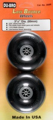 Dubro Smooth Wheels 3-1/2  (2)