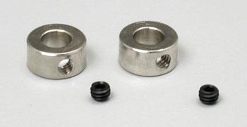 "Dubro Dura-Collars 1/4\"" (4)"