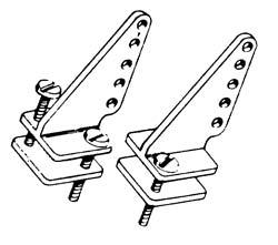 Dubro Control Horn Nylon T-Style (2)