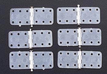 Dubro Mini Nylon Hinges-6 Pack