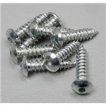 Button Head Sheet Metal Screws 4x1/2 (8)