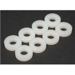 Flat Nylon Washer #8 (8)