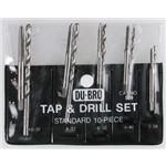 10pc Std Tap & Drill Astd