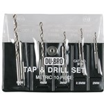 10pc Metric Tap & Drill Astd Metric