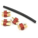 ProTek RC  Male T-Style Ultra Plugs (4)