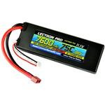 Lectron Pro 11.1V 7600mAh 75C Hard Case Lipo Battery with Deans-