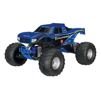 Traxxas Bigfoot The Original Monster Truck, Firestone Blue, Rtr W/ Xl5 E