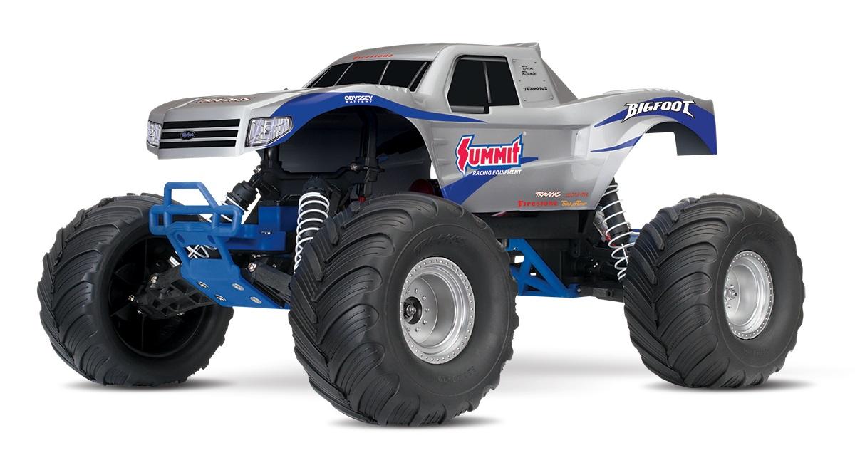 Traxxas Bigfoot The Original Monster Truck, Summit Silver, Rtr W/ Xl5 Es