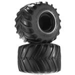 J Concepts Firestorm Monster Truck Tire Blue Compound