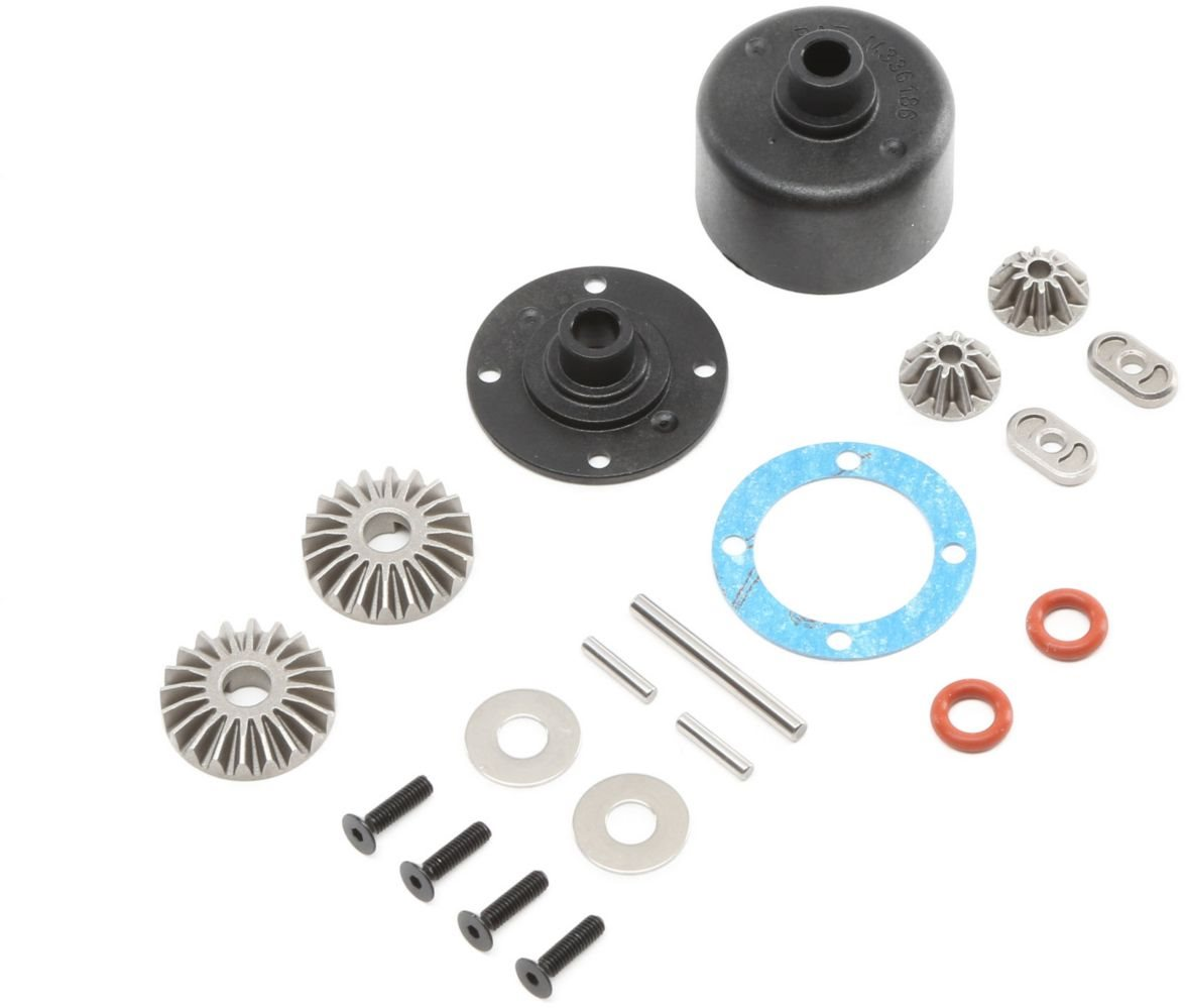 Losi Differential Case & Hardware: 8 & 8T RTR