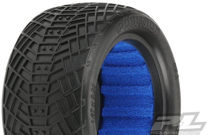 "Proline Positron 2.2"" Mc (Clay Compound) 1/10 Rear Buggy Tires, (2) W/ C"