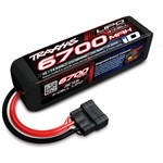 Power Cell Lipo 14.8V 4-Cell 6700Mah 25C Battery With Id Connect