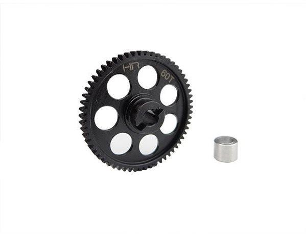 Hot Racing Steel Main Gear, 0.5 Module, 60 Tooth, For Traxxas Latrax Rally