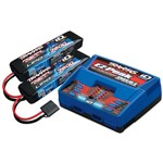 Battery & Charger Combo Pack, Includes 2972 Dual Id Charger & (2