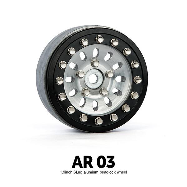 "Gmade 1.9\"" Ar03 5 Lug Aluminum Beadlock Wheels (2)"