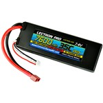 Common Sense RC Lectron Pro 7.4V 7600mAh 35C Lipo Battery with Deans Connector