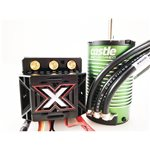 Monster X 25.2V Esc, 8A Peak Bec W/ 1515-2200 Kv Sensored Motor