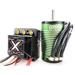 Monster X 25.2V Esc, 8A Peak Bec W/ 1512-2650Kv Sensored Motor *