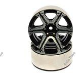 Boom Racing EVOT 1.9 High Mass Beadlock Aluminum Wheels Twin-6A (2)