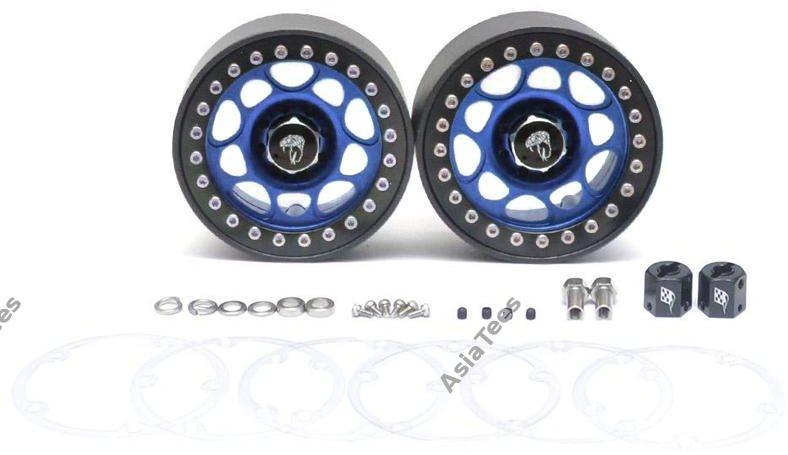 Boom Racing Sandstorm KRAITT 2.2 Aluminum Beadlock Wheels with 8mm Wideners