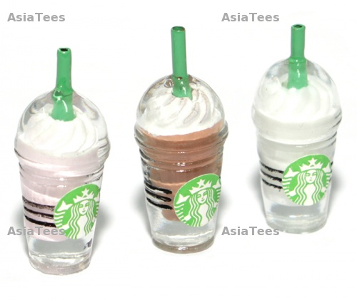 Team Raffee Scale Accessories - Starbucks Frappuccino Blended Beverages (3/S