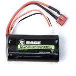 7.4V, 1500Mah Li-Ion Battery: Black Marlin