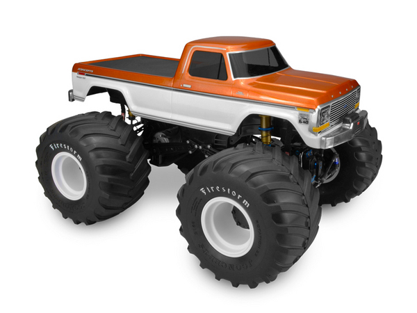 J Concepts 1979 Ford F-250 Monster Truck Clear Body W/ Bumpers