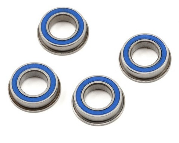 """ProTek RC 8X14x4mm Rubber Sealed Flanged \""""Speed\"""" Bearing (4)"""