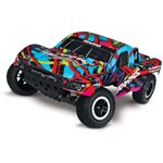 Traxxas Slash 1/10 2Wd Short Course Truck W/ 2.4Ghz Radio, Battery & Cha
