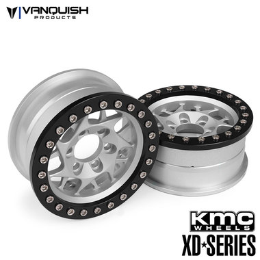 Vanquish Products KMC 1.9 XD127 Bully Clear Anodized