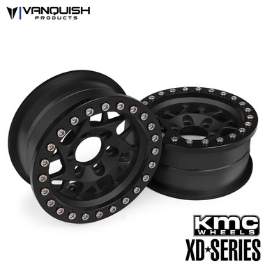 Vanquish Products KMC 1.9 XD127 Bully Black Anodized