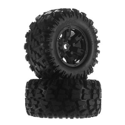 Traxxas Tires & Wheels, X-Maxx, Glued Left & Right (2)