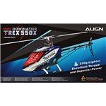 Align T-REX 550X Dominator Super Combo  (DS820/DS825 Servos)