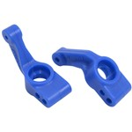 RPM Blue Rear Bearing Carriers Slash 2WD/E-Rustler