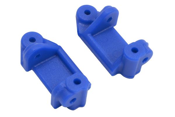 RPM Blue Front Caster Blocks Slash 2WD/Nitro Slash