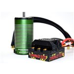 Monster 2 1:8Th 25V Car Esc Waterproof W/ 2200Kv Motor *Replaces