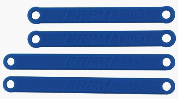 RPM Camber Links Blue Molded E-Rustler/E-Stampede