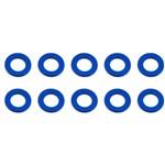 Ballstud Washers 5.5x0.5mm Blue Aluminum