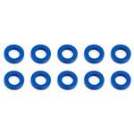 Ballstud Washers 5.5x1.0mm Blue Aluminum