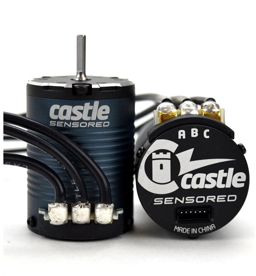 Castle Creations Sensored 1406-2850Kv Four Pole Brushless Motor