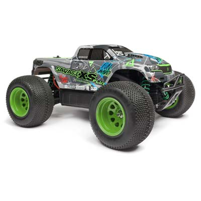 HPI Savage XS Flux Vaughn Gittin Jr 4WD