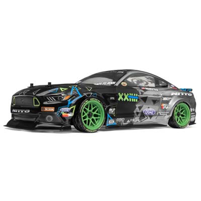 HPI 1/10 RS4 Sport 3 Monster Ford Mustang VGJ RTR