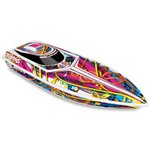Blast High Performance Electric Race Boat Rtr W/ 2.4Ghz Radio, B