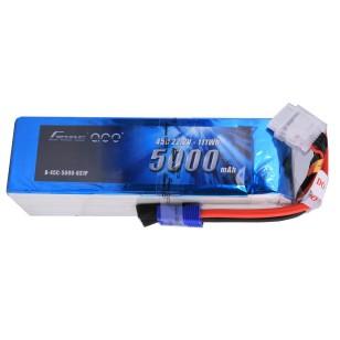 Gens Ace 5000mAh 6S1P 22.2V 45C Lipo Battery Pack EC5 plug