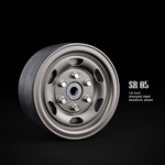 "1.9"" Sr05 Beadlock Wheels (Uncoated Silver) (2)"